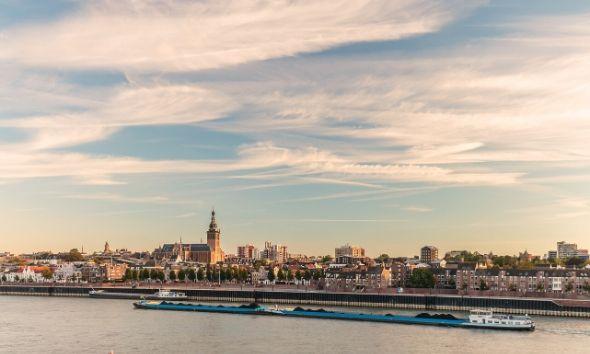 Nijmegen aan het water